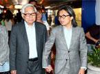 陈可辛携父抵达威尼斯 谈宫崎骏退休表示遗憾