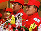 中国救援队完成救援抵达北京
