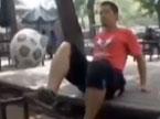 脚尖上的功夫足球