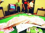 长沙警方打击赌博窝点